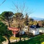 Parque de casa en la Toscana