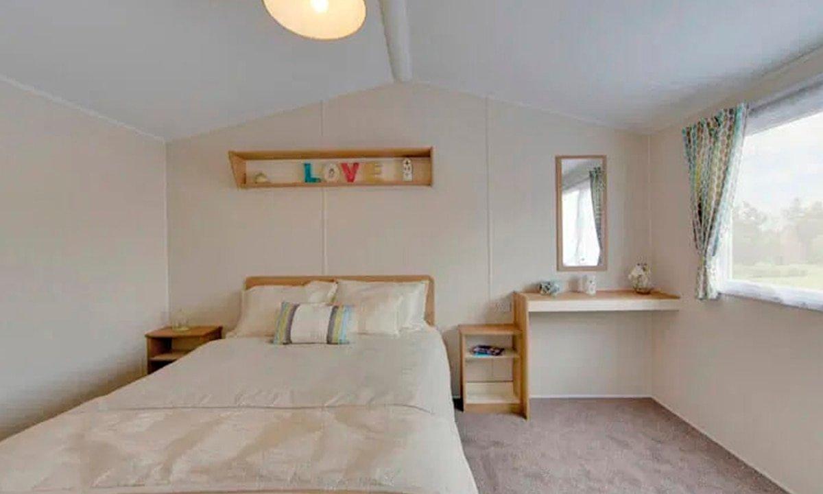 Habitación de matrimonio de la Willerby Mistral 2021