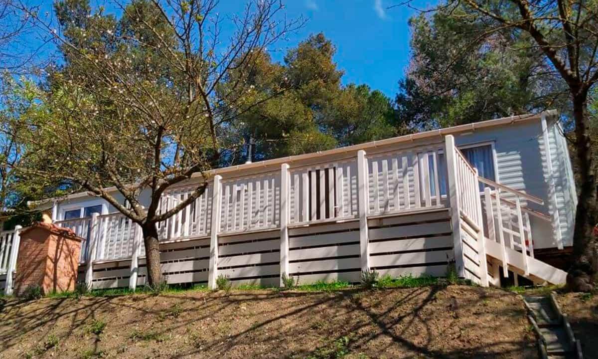 Casa de madera en la Toscana
