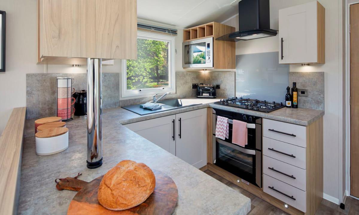 Cocina de la Willerby The Manor 2022