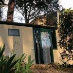 FAchada de la Mobil Home Shelbox Classic. Plot 21